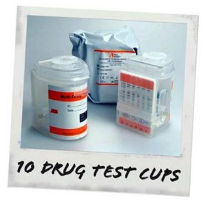 MHE 10 Drug Test Cups