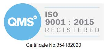 MHE ISO 9001: 2015 Accreditation