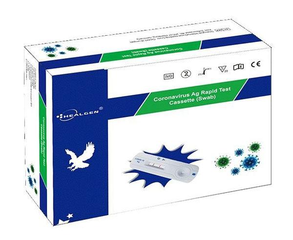 MHE Coronavirus Test Kit Box