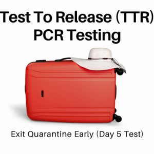 PCR Test To Release TTR Testing
